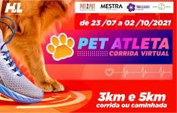 CORRIDA PET ATLETA (edição virtual)