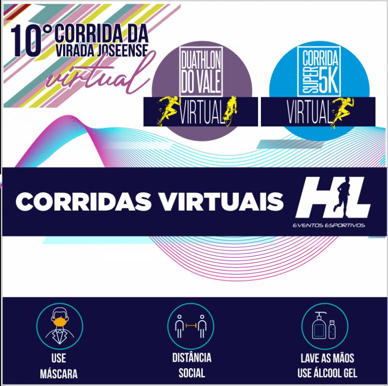 CORRIDAS VIRTUAIS DA HL EVENTOS ESPORTIVOS