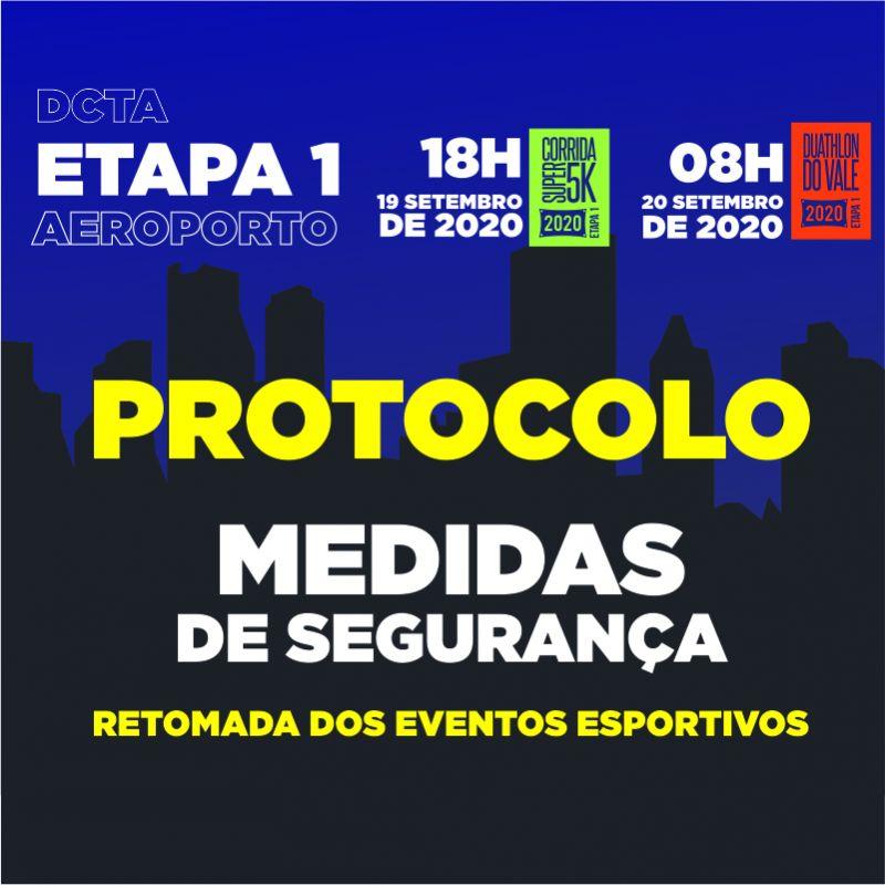 PROTOCOLO DE MEDIDAS PARA A RETOMADA DOS EVENTOS ESPORTIVOS